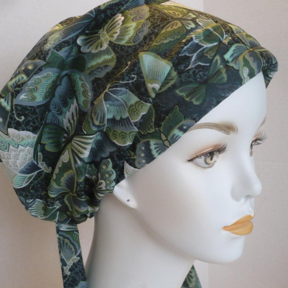 cancer chemo hat hair loss alopecia cotton scarf turban