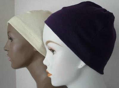 Cancer Chemo Sleep Cap Scarf Liner CPAP Hat Head wrap Turban Alopecia